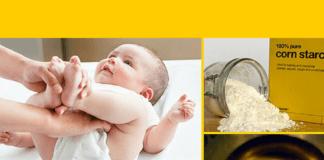 Pure Cornstarch For Diaper Rash Fast - The Effective Way