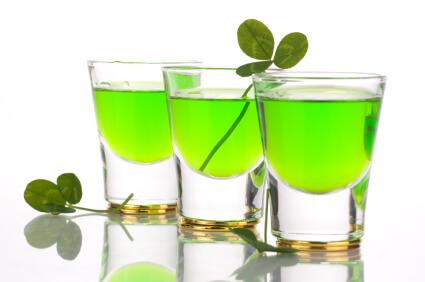 Green Vodka Drinks For St Patrick