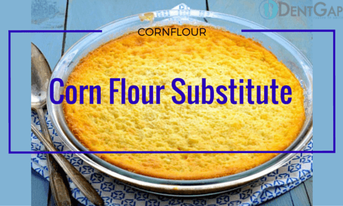 Can you use tapioca flour instead of cornflour