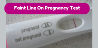 Faint Line On Pregnancy Test