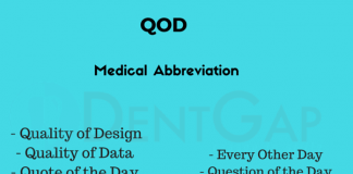 QOD Medical Abbreviation