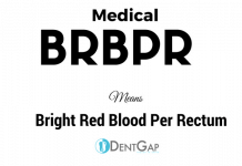 BRBPR Medical Abbreviation
