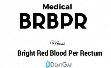 BRBPR Medical Abbreviation