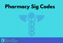 pharmacy sig codes