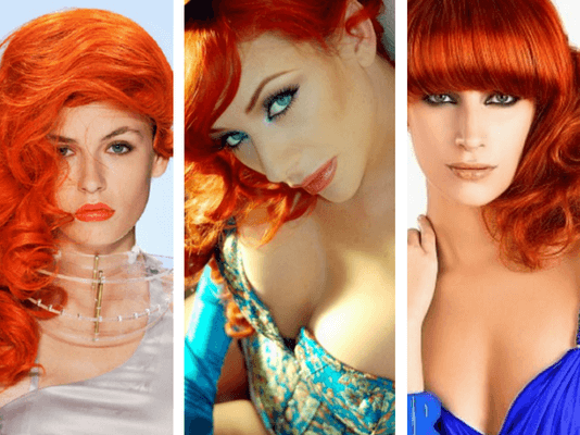 Orange Hair Dye Brands